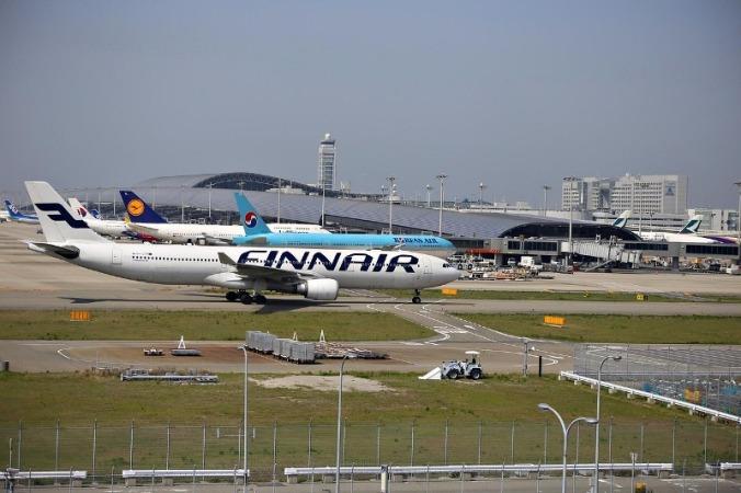 Kansai International Airport, Osaka, Japan, KIX, travel