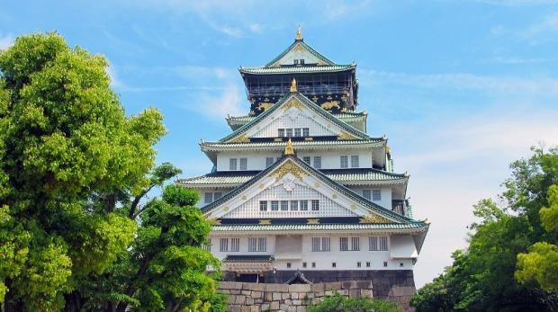 Osaka Castle, Osaka, Japan, castle, travel, photography