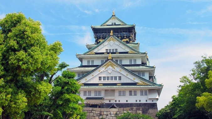 Osaka Castle, Osaka, Japan, castle, travel, photography