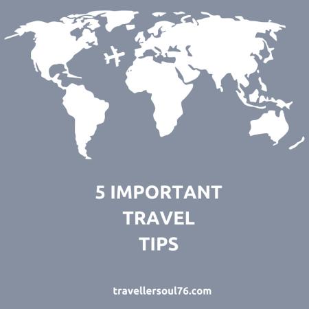 5 important travel tips social media