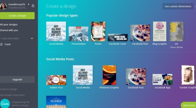 Canva, photo editing online tool, photography, TS76