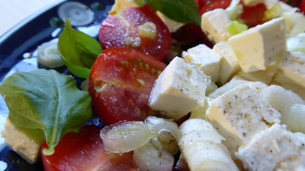 Hearty and healthy Greek salad is a hit every time