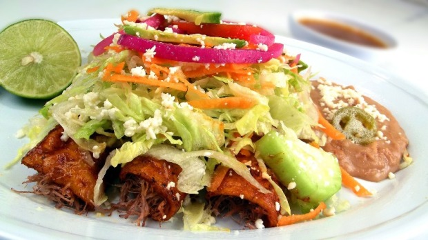 A true feast for the eyes and palate. Try enchiladas and the works in Cancun, Mexico or elsewhere in the Republic. Foodies love it!
