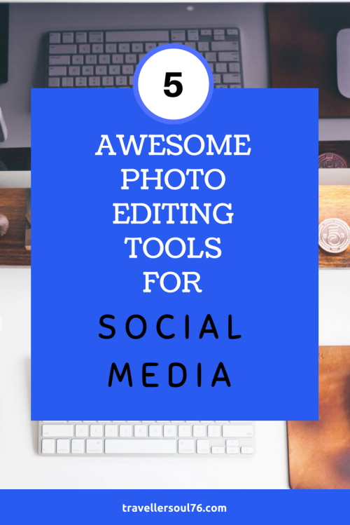 Need to add graphics, images to your blog posts or create updates for your social media profiles? Here are 5 Awesome Photo Editing Tools. Best of all? They are FREE! Come check them out! #SocialMedia #blogging #bloggingtips #blog #photoediting #photography