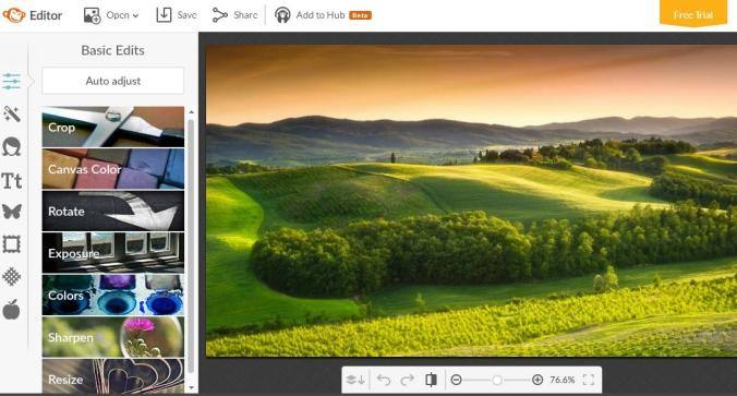 Picmonkey, online photo editor, photography, TS76