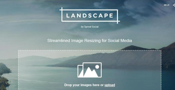 Landscape, Social Sprout, photo editing online tool, photography, TS76
