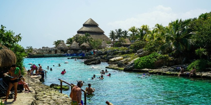 Have an adventurous soul and are a thrill seeker? Then head to Xcaret Park in Cancun, Mexico for guaranteed fun!