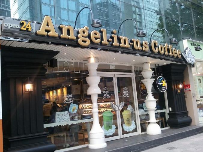 Angels-in-us in Seoul, South Korea