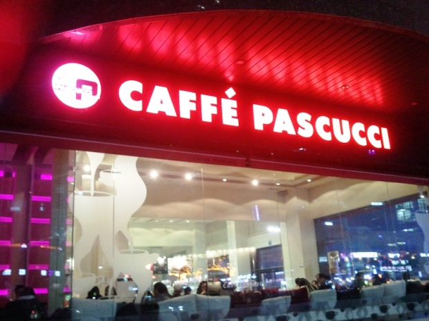 Caffé Pascucci in Seoul, South Korea