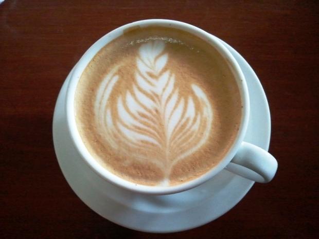 Cappuccino at Viva Café in San Salvador, El Salvador
