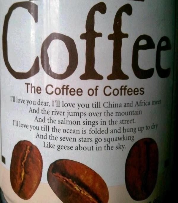 Coffee in a can
