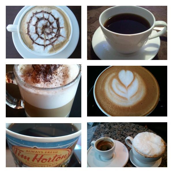 Coffee lover, coffee varieties