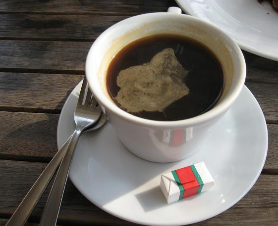 Costa Rican coffee in Seoul, South Korea