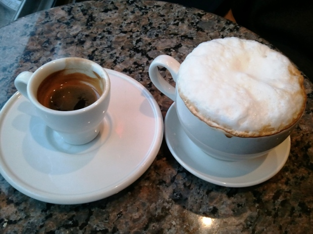 Espresso and Cappuccino