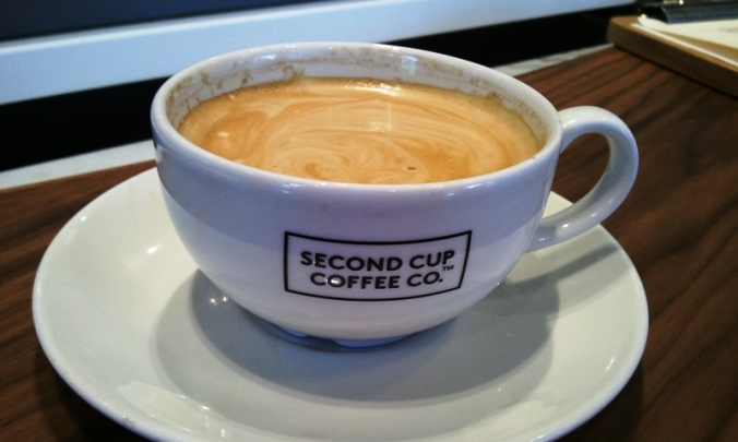 Second Cup coffee, Flat White