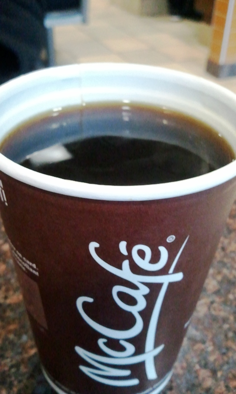 McDonald's McCafé coffee