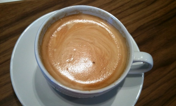 Second Cup Flat White Coffee