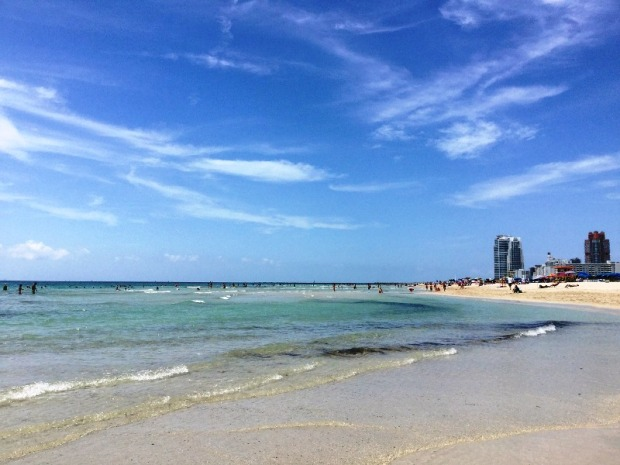 Sun, sand, surf and right in the continental USA? Miami Beach is a sun and water lover's paradise