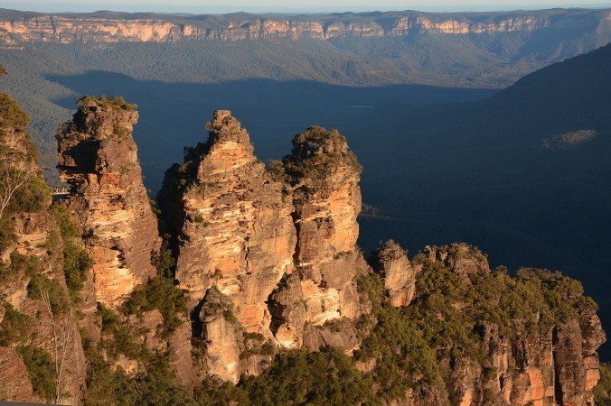 Spectacular Blue Mountains in New South Wales, Australia.