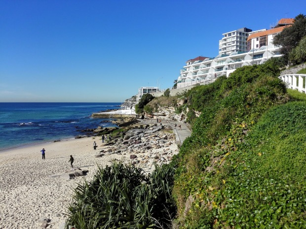 Bondi Beach in Sydney, Australia is a great place to rest and relax.