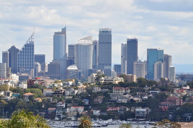 Breathtaking skyline of Sydney, Australia.