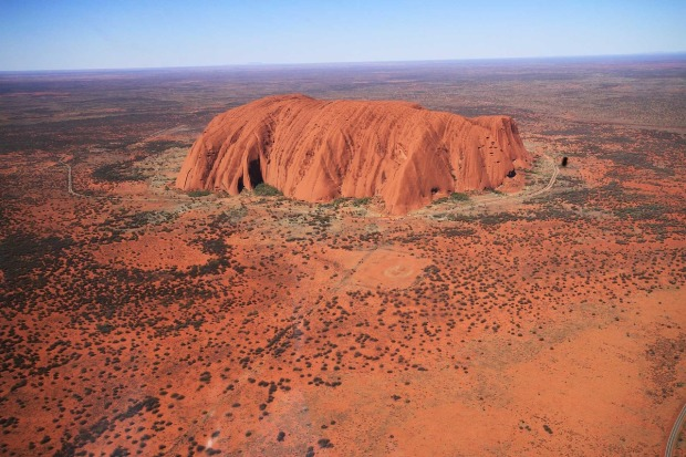 Uluru, Ayers Rock is the largest monolith on earth and is located in Northern Territory, Australia.