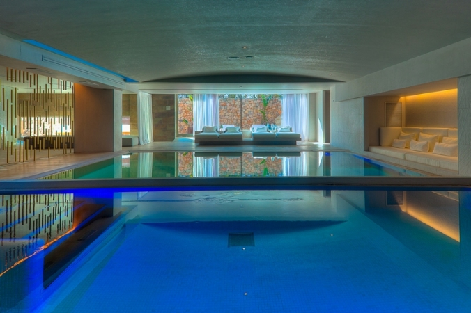 Spa at Aguas de Ibiza luxury hotel