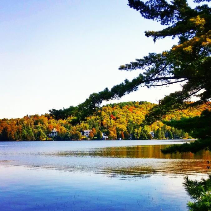 Lac Supérieur in St-Faustin-Lac Carré, Laurentides, Laurentians, Quebec, Canada