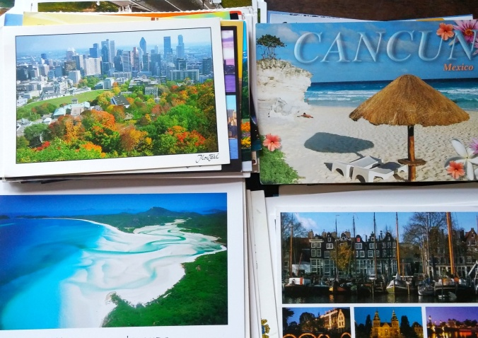 Postcard Collection from around the world