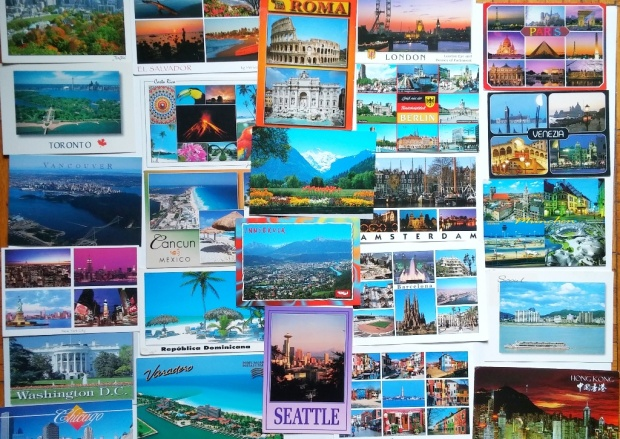Postcard Collection from around the globe