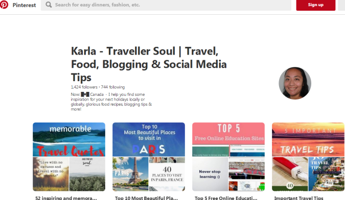 Do you love pinning? Come find Travellersoul on Pinterest where I share pins about #travel #socialmedia #instagram #food and more!