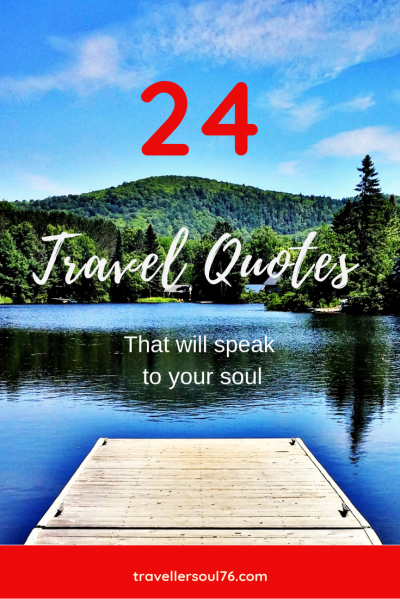 Love travel? Love quotes? How about combining both and let them inspire as well as motivate you to go out and explore our planet? Check out the following 24 travel quotes that will speak to your soul! Enjoy :) #travel #quotes #travelquotes #travelblog #travel #blog #blogging #inspiration #motivation #quotestoliveby #qotd