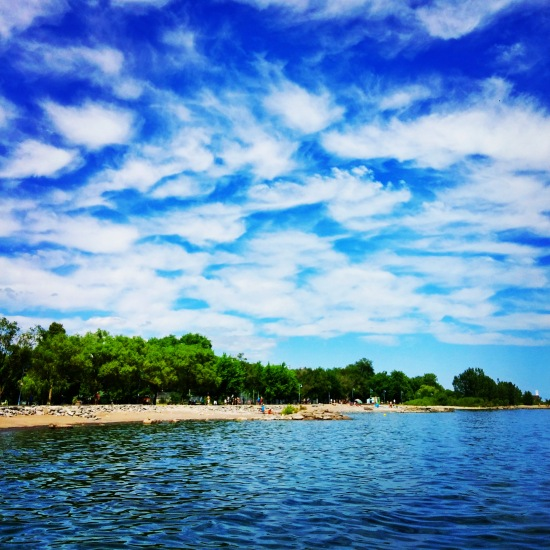 Gorgeous day at The Beaches in Toronto, Ontario. #travel #travelblog #photography