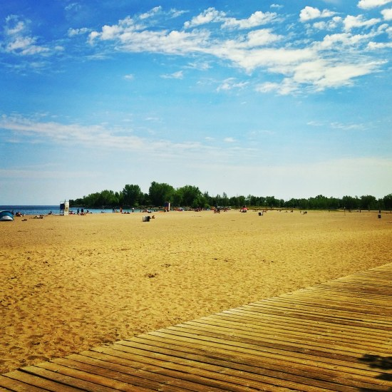 Boardwalk at The Beaches in Toronto, Ontario. #travel #travelblog #photography