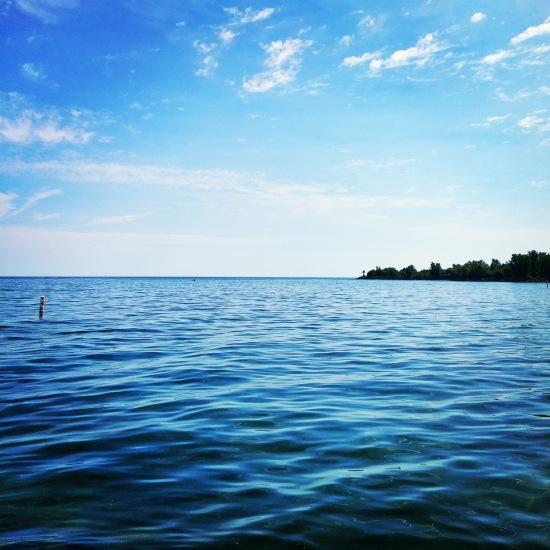 True Blue at Lake Ontario in Toronto. #lake #photography #travel #travelblog