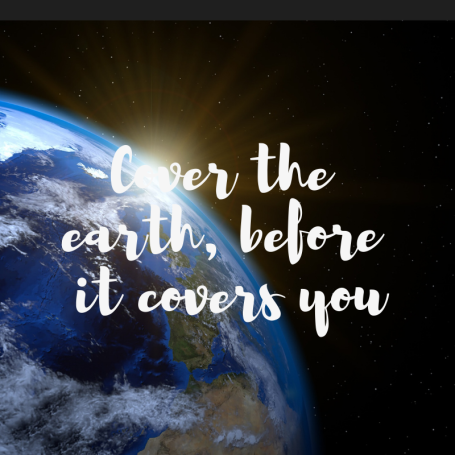We're here on this planet for many reasons and we are in one side. We must cover the earth before it covers you. True quote right? #travel #quote #travelquote #travelblog #travelblogger #blogging #blog