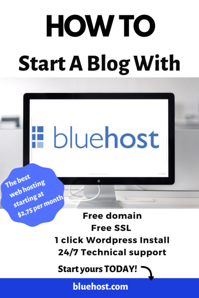 Bluehost Pinterest Pins