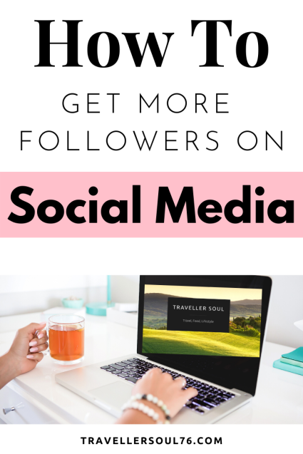 How To Get More Followers on Social Media? Here are some easy steps in order to gain and grow your following! #socialmedia #growthhacks #bloggingtips #blogging