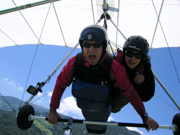 Hang gliding. Laura Vaisman, author of Spiritual Nomad book. #travel #photography #travelphotography