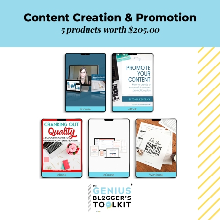 Want to learn more about Content Creation & Promotion? Here are some excellent resources found only in the