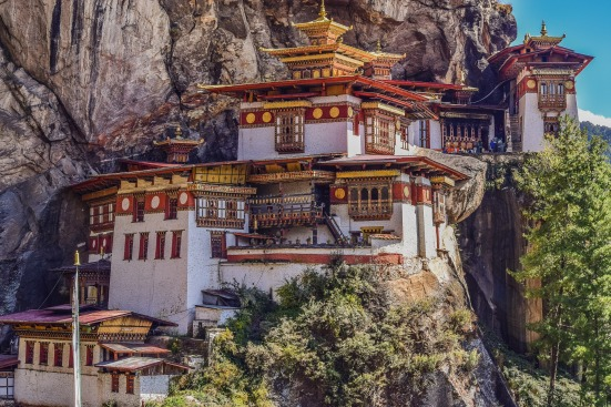 Tiger's Nest Monastery in Bhutan is a sight to behold. #travel #photography #travelblog